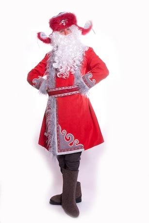 Дед Мороз зипун красный