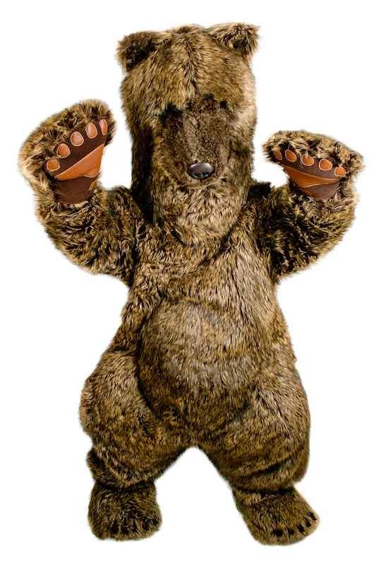 Медведь ростовая кукла