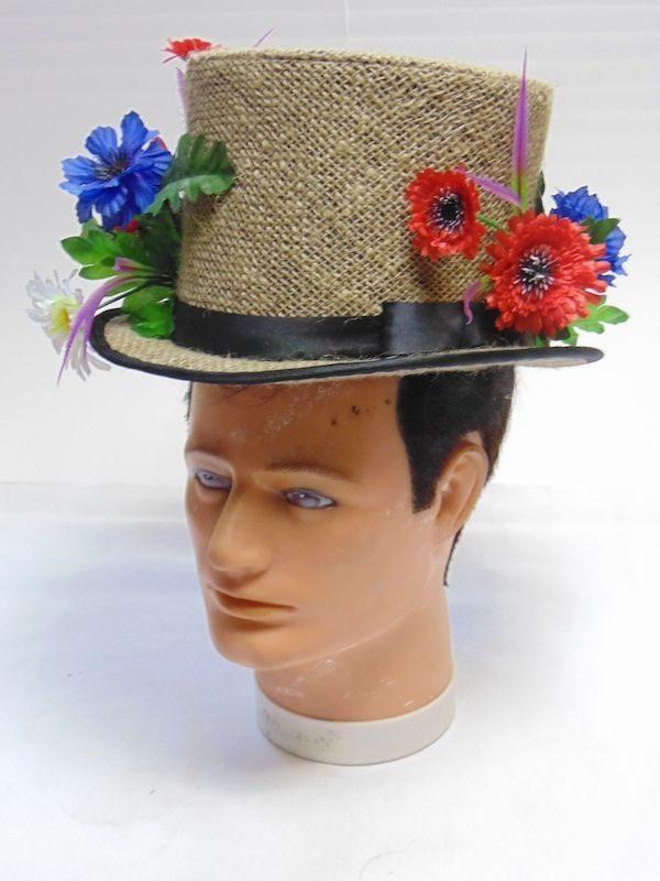 Цилиндр с цветами