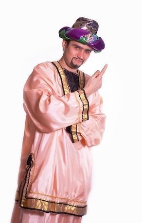 Восточный костюм персиковый