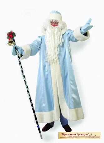 Дед Мороз кристалон голубой