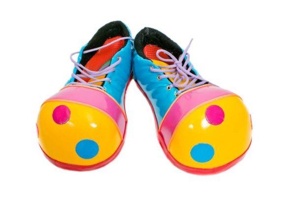 Ботинки клоунские, 45 размер