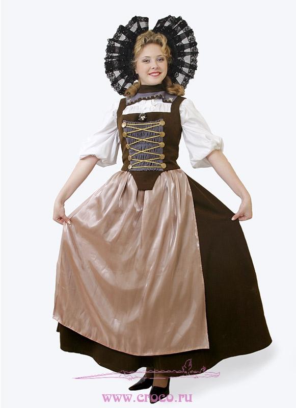 Швейцарский национальный костюм