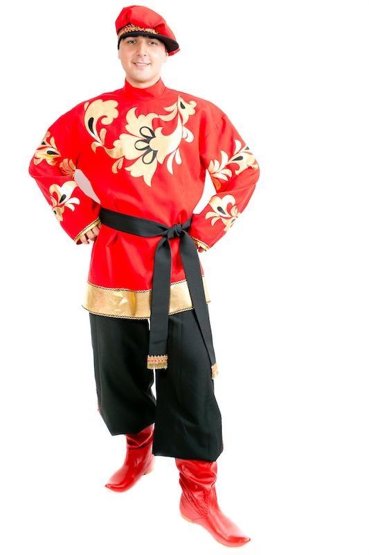 Хохлома, мужской костюм