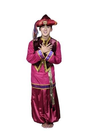 Восточный костюм сборный красный