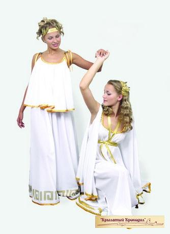 Туника греческая женская белая