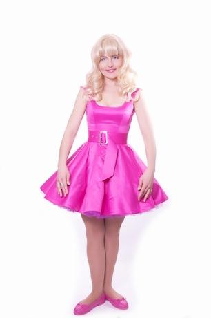 Барби (платье родамин)