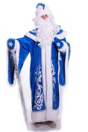 Дед Мороз VIP синий