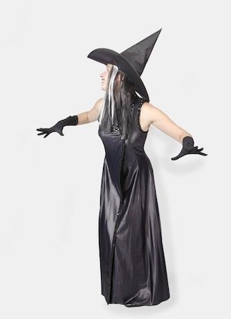 Ведьма черная хеллоуинская