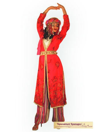 Турецкий женский костюм