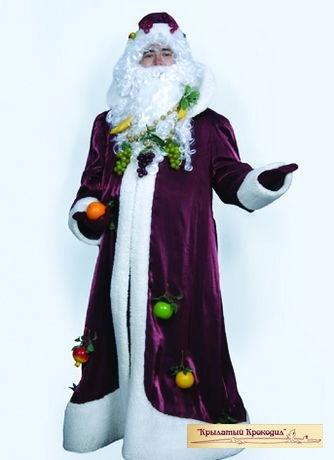 Дед Мороз кристалон бордо