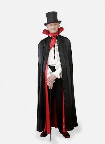 Граф дракула, костюм сборный