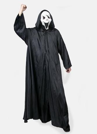 Крик, костюм сборный