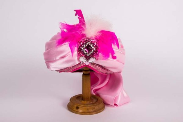 Чалма розовая