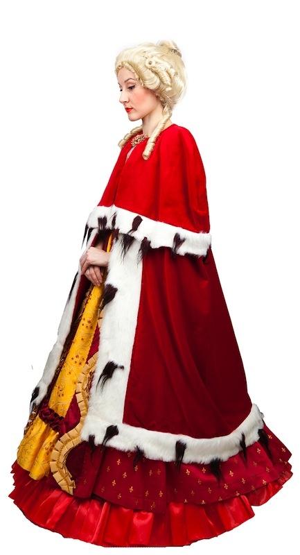 Мантия королевская