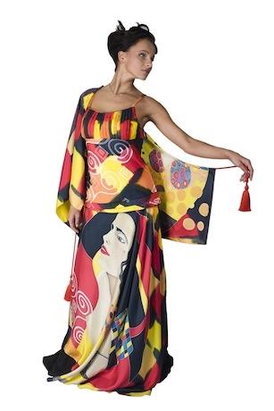 Вечернее платье Климт