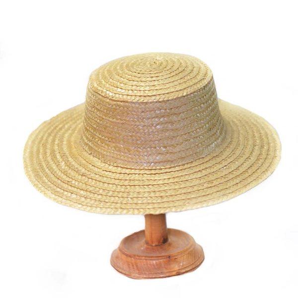 Шляпа соломенная