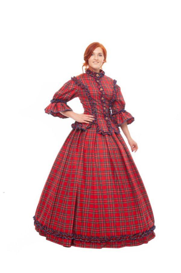 Английское платье
